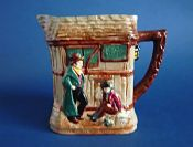 Early Royal Doulton Dickens Series G 'Oliver Twist' Relief Moulded Jug D5617 c1939